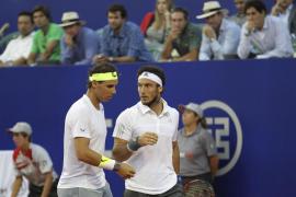 La pareja Nadal-Mónaco se estrena con victoria en Buenos Aires