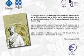 Presentación del tercer número de la colección 'Estudios de Violencia de Género'