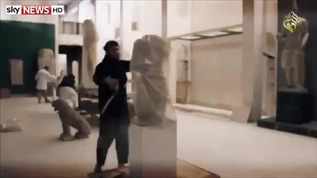 El Estado Islámico arrasa el Museo de la Civilización de Mosul