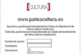 Cort gastó 16.756 euros en una web cultural 'en construcción' desde 2011