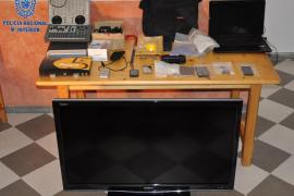 Detenidas dos personas por un robo con violencia en un domicilio de Manacor