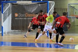 Importante triunfo del Palma Futsal ante el DLink Zaragoza