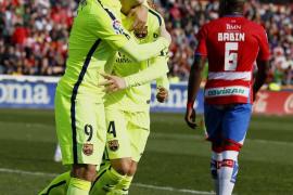 El Barcelona cumple con facilidad el expediente en Granada