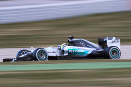 Hamilton mantiene a los Mercedes como los más rápidos por segundo día consecutivo