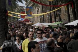 Multitudinaria y tradicional celebración del Dia de les Illes Balears