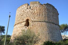 Distintas asociaciones denuncian el deterioro de la Torre de la Mola en Andratx