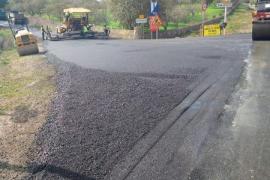 Cortada al tráfico la vía que une Son Servera con la carretera a Manacor por obras