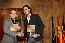 Rafa Nadal y Jorge Lorenzo comparten protagonismo en la campaña Movistar Fusión Deporte