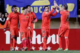 El Barça llega a la final de la Copa del Rey tras superar al Villarreal