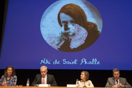 La artista Niki de Saint Phalle encontró en Mallorca «calma para crear»