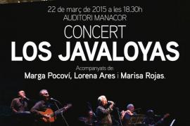 Los Javaloyas se suben al escenario junto con tres voces femeninas