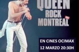 Proyección de una de las mejores actuaciones de Queen