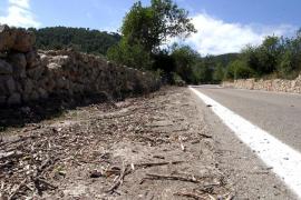El Consell invierte 500.000 euros en mejorar el pavimento del coll de sa Creu
