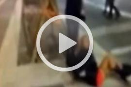 La víctima de la patada por la espalda agradece el «apoyo recibido»
