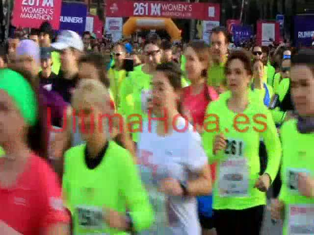 La atleta rumana Elena Daniela Cirlán, ganadora de la Women's Marathon