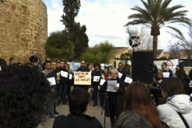Más de 300 personas se movilizan en contra del cable de alta tensión del Port d'Alcúdia