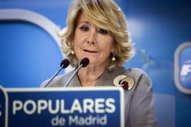 Aguirre da por zanjada la polémica y liderará el PP hasta el próximo congreso