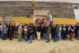 """Los antitaurinos tachan de """"ridículo"""" el acto de apoyo a la fiesta en Inca"""