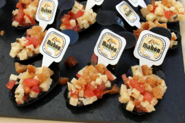 Las ventas del queso mahonés, al alza