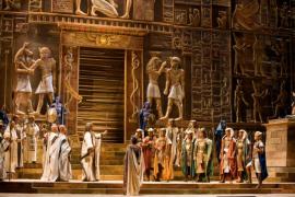 La ópera 'Aida' reunirá cerca de 250 artistas en el escenario del Teatre Principal