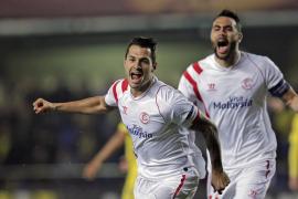 El Sevilla pone pie y medio en cuartos de la Europa League a costa del Villarreal