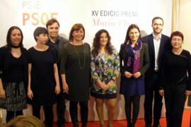 El PSIB premia a Katiana Vicens por su trabajo por los derechos laborales de las mujeres
