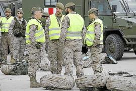 El regimiento 'Palma 47' se desplaza a Albacete para sus ejercicios de tiro