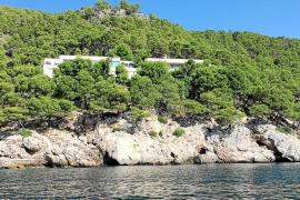 Cuenta atrás para legalizar las obras de Villa Cortina en Formentor