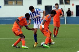 El Valencia Mestalla pone en jaque al Atlètic Balears