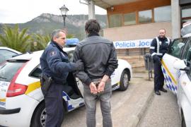 'Cazados' en pleno robo en Andratx
