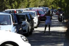 La policía elabora un informe de movilidad para solucionar el acceso a ses Covetes