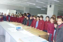 Alumnes del Col·legi Sant Vicenç de Paül de Manacor visitaren Grup Serra i Endesa