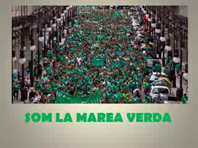 """Los docentes instan a poner fin a este Govern """"censurador y represivo"""""""