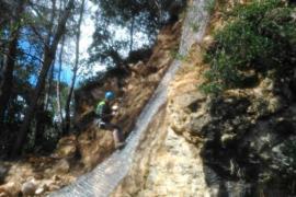 Comienzan los trabajos para evitar desprendimientos en la carretera de Sóller