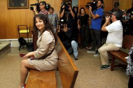 La Audiencia confirma la condena a Katiana Vicens por coacciones y daños