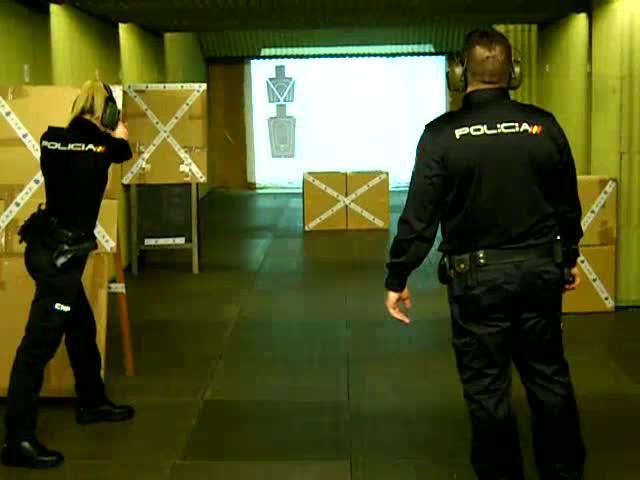 La Policía Nacional inaugura una nueva galería de tiro
