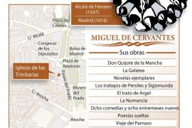 La tumba de Cervantes