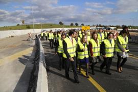Ana Pastor visita varias obras financiadas por Fomento en Mallorca