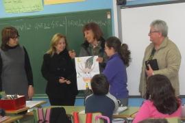 Capdepera entrega los premios del concurso de dibujo «Ni un foc al bosc»