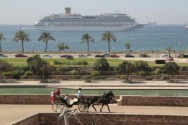El Puerto de Palma prevé batir este año la llegada de un millón y medio de cruceristas