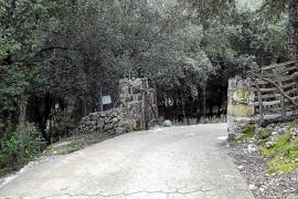La carretera de Lluc a su paso por Ca na Borrassa tendrá barreras automáticas