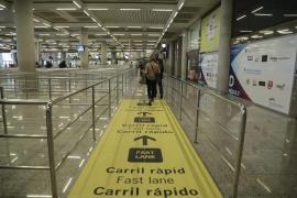 La clase turista no podrá utilizar el carril rápido de Son Sant Joan