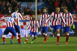 Los penaltis premian a un potente Atlético