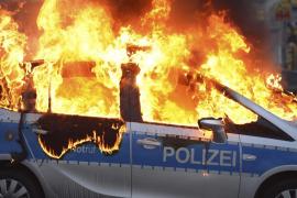 Violentos enfrentamientos en Frankfurt ante la inauguración de la sede del BCE