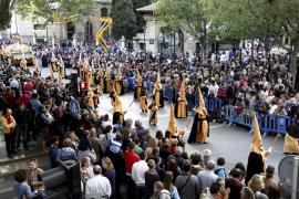 Las 33 cofradías de la Semana Santa palmesana saldrán por orden de antigüedad