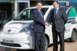 Enterprise Rent-A-Car incorpora una Nissan e-NV200 para su oficina de Atocha