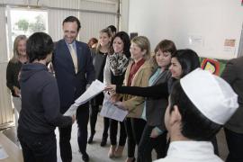 Bauzá visita la Fundación S'Estel en el día de puertas abiertas