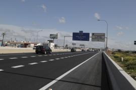 Abierto al tráfico el enlace de la autopista de Levante con el Molinar