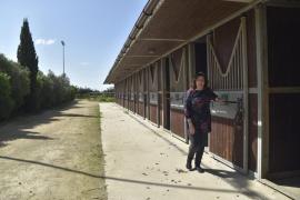 Marian Porter, propietaria del rancho 'La Paz Dressage'
