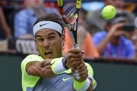 Nadal y Feliciano llegan a cuartos en Indian Wells, igual que Djokovic y Federer